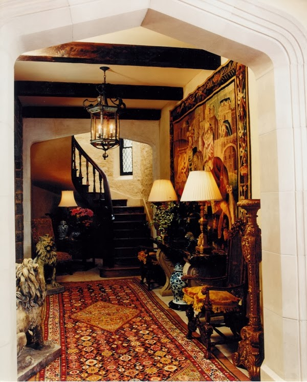 Tudor Interior Design eye for design: decorating tudor style