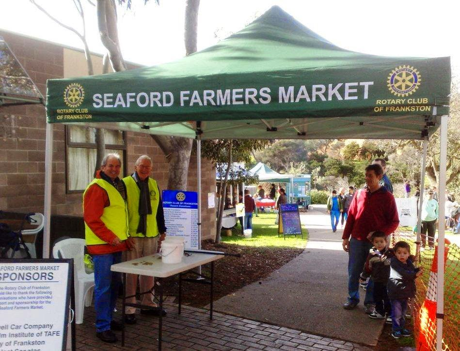 Seaford Farmers Market; Frankston Rotary