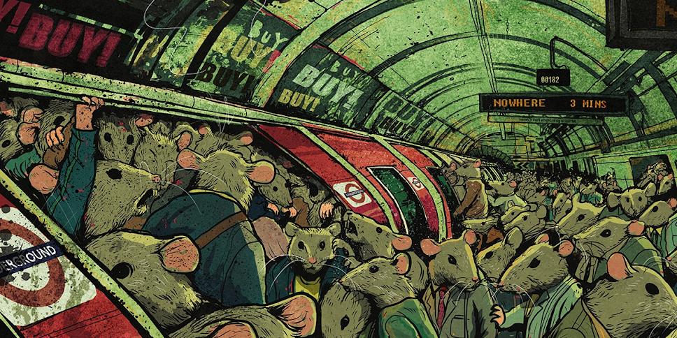 Corrida dos Ratos - A FUGA