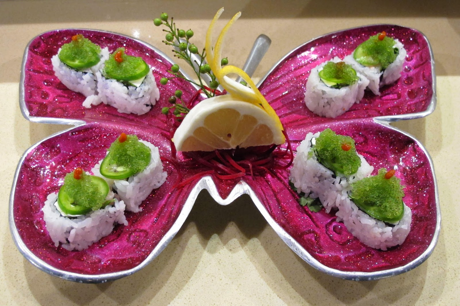 Yellowtail Belly Sushi THE SUSHI DIVA:...