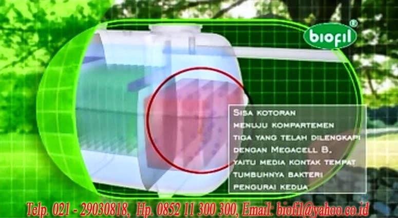 cara kerja septic tank biofil