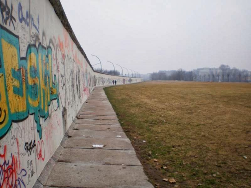 Berlin Wall and graffiti