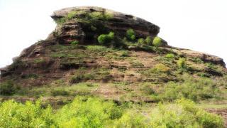 As Guaritas - Rochas que sofreram erosão do vento, em Caçapava do Sul