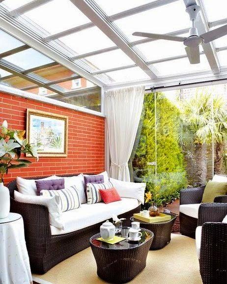 Mi rinc n de sue os como aprovechar un balcon cerrado - Como decorar un porche abierto ...