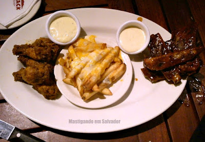 Outback Steakhouse: Wings, Ribs and Fries