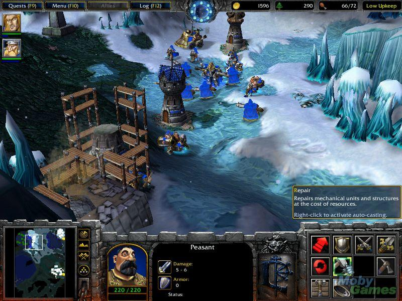 frozen throne how to play in windows