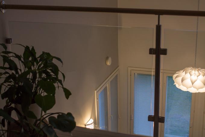 iltavalaistus sisustus kattovalaisin ja seinävalaisin