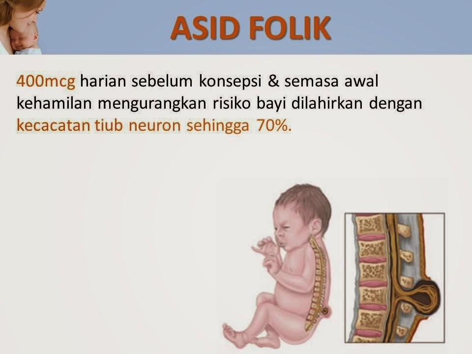 Asid Folik untuk ibu mengandung