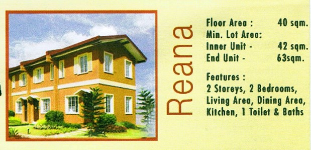 Camella Davao - Communal, Buhangin, Davao City - Reana model