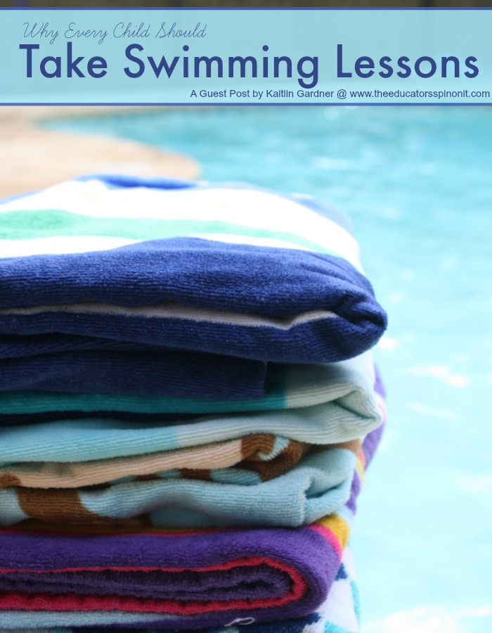 Why Every Child Should Take Swimming Lessons this year.