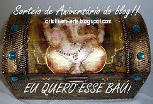 SORTEIO DE ANIVERSÁRIO DO BLOG!