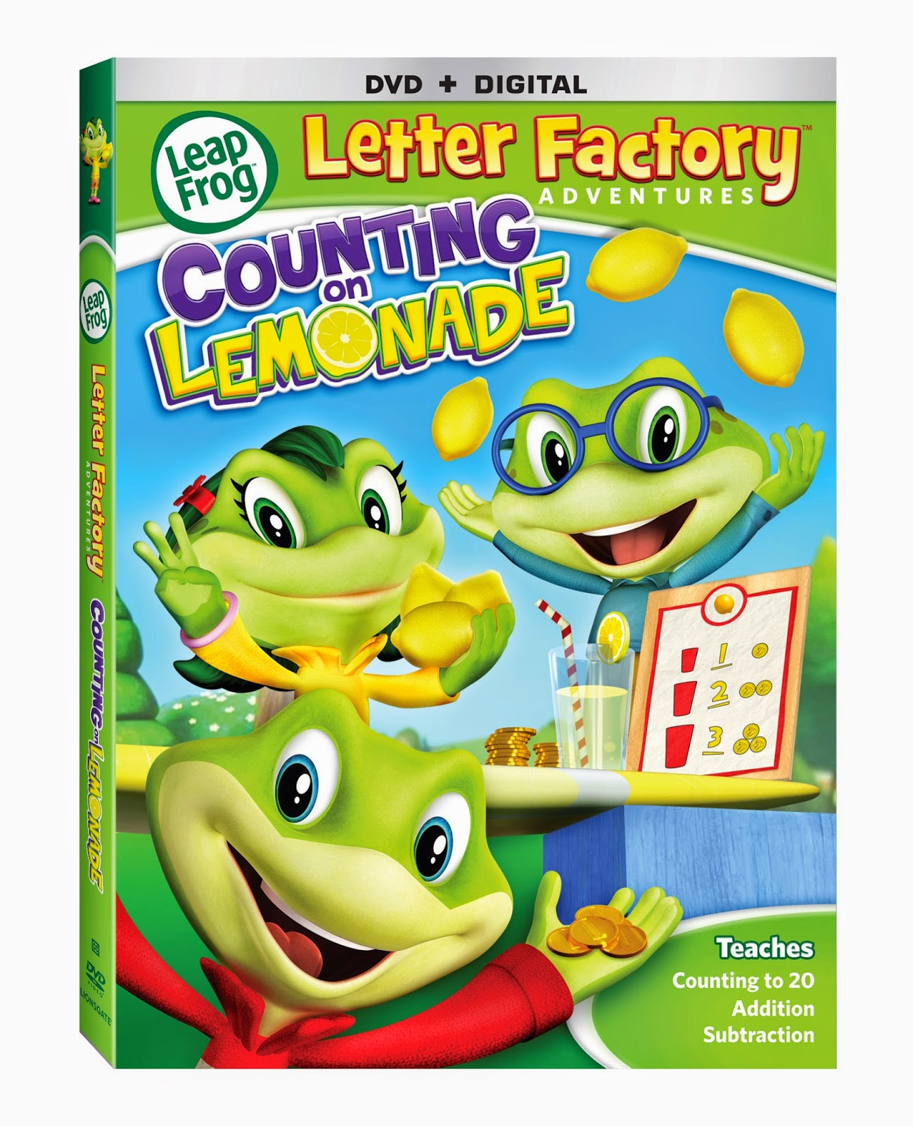 leapfrog letter factory adventures counting on lemonade With leapfrog letter factory adventures counting on lemonade