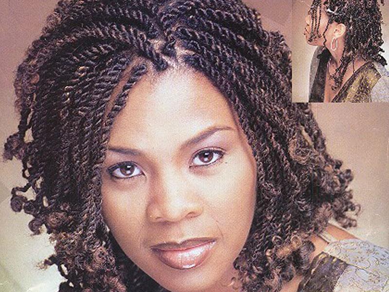 Hairstylesdotcom Today Is Kinky Braids Day