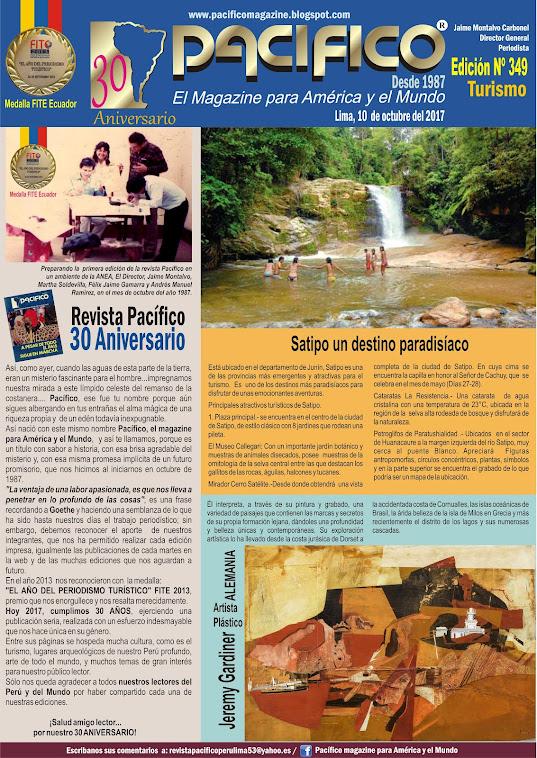 Revista Pacífico Nº 349 Turismo