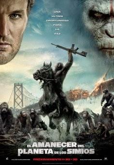ver El planeta de los simios 3 / El amanecer del Planeta de los Simios / Dawn of the Planet of the Apes (2014)