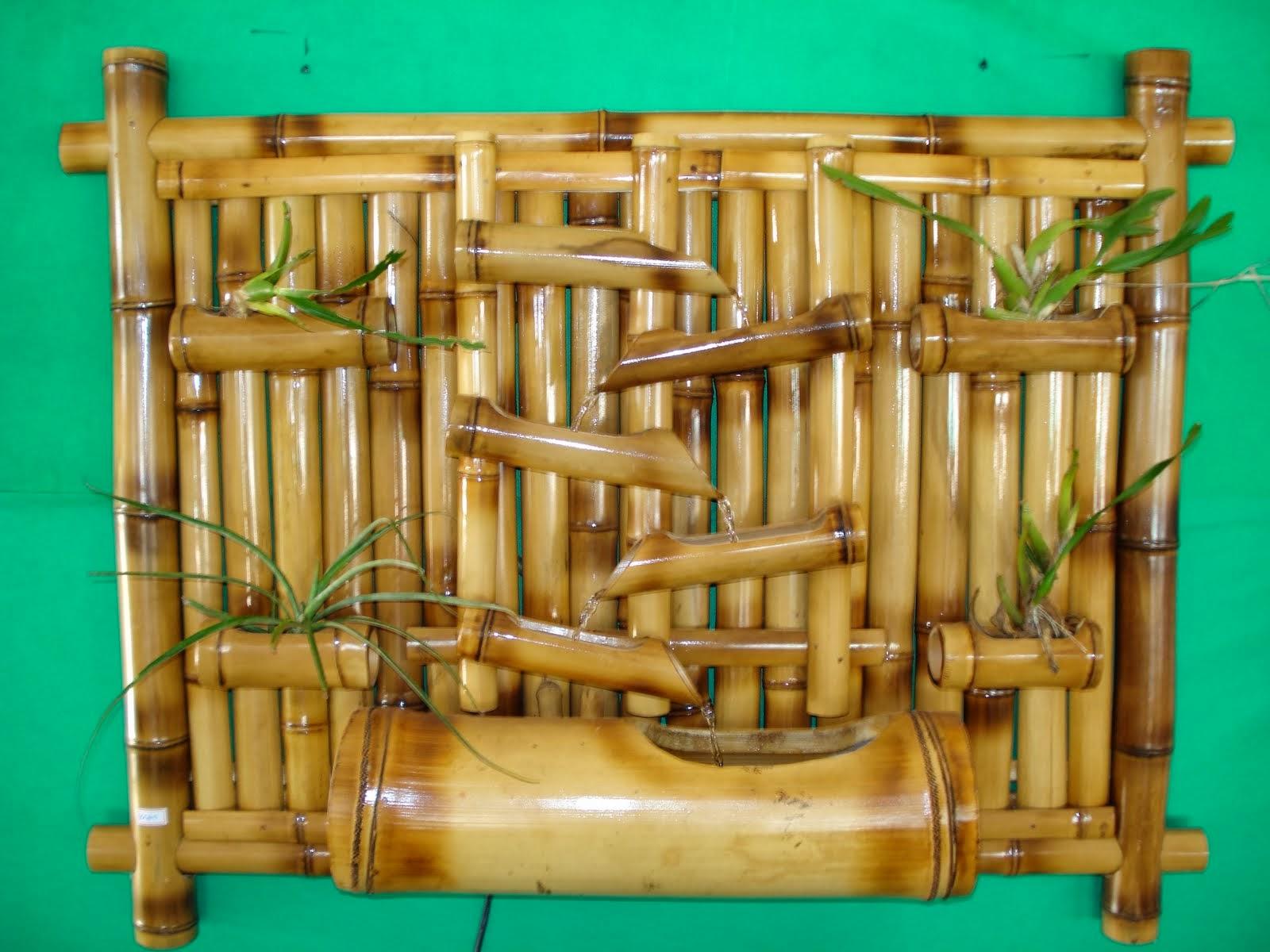 artesanato de bambu para jardim: de estar mais próximo da natureza trouxe aqui algumas ideias de