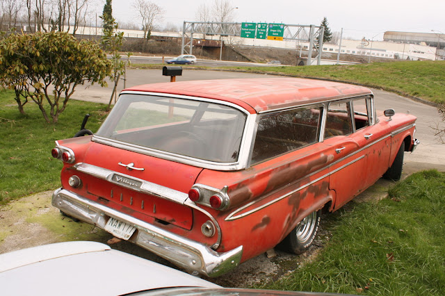 1959 Edsel Villager Wagon.