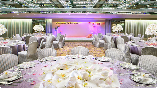 Regal Kowloon Hotel Hong Kong Wedding Hall