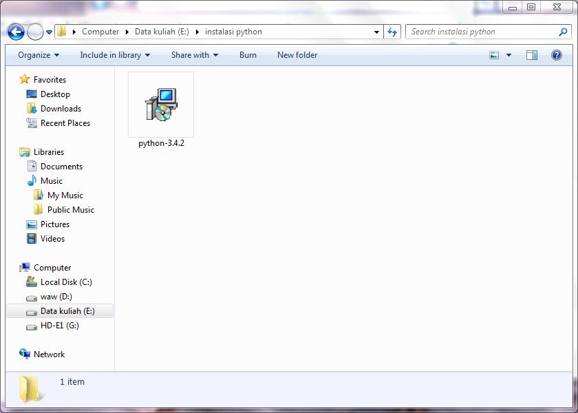 File instalator python