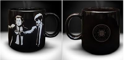 caneca de café pulp ficition