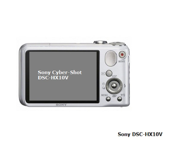 Sony DSC-HX10V back