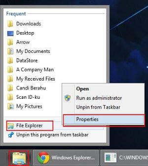 Folder Icon Taskbar