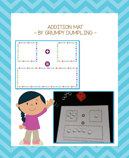 https://www.teacherspayteachers.com/Product/Addition-Mat-FREEBIE-1882401