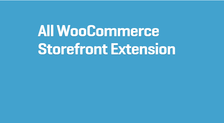 All WooCommerce Extensions
