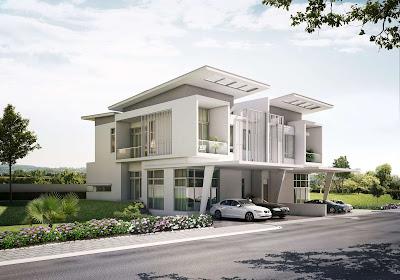 Singapore Modern Home Exterior Design Country Home Design Ideas