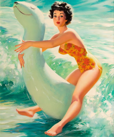 William Medcalf pin up girl