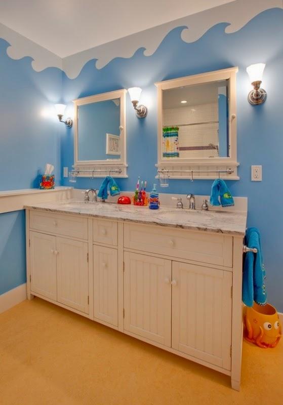 Baños Infantiles Medidas:En un baño infantil es importante mantener todo ordenado y limpio