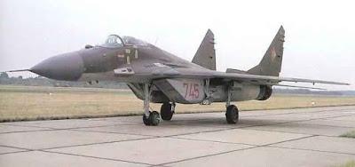 Mig-29 da Alemanhã Oriental.