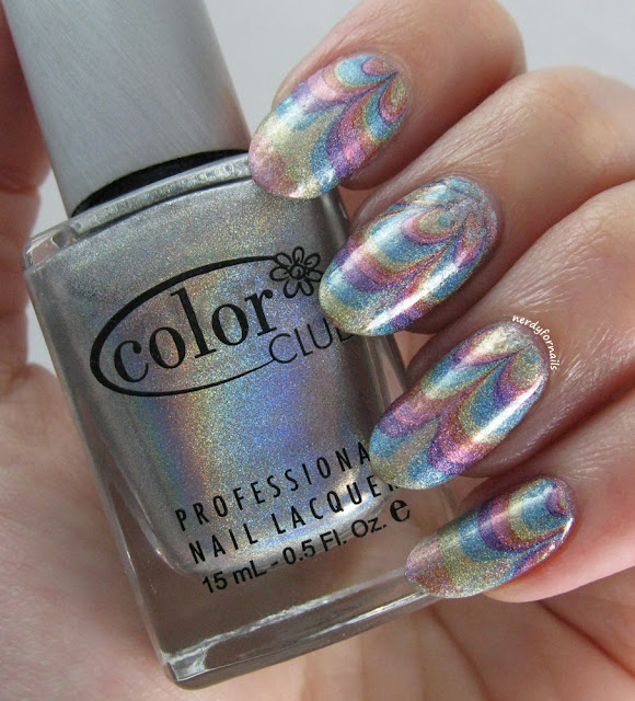 Water Marble Decal Tutorial- Color Club Halo Hues Collection