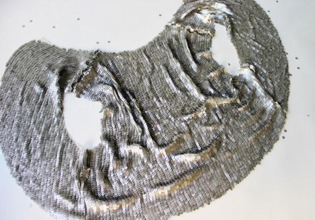 Pullu Kumaştan Abiye Bolero Dikimi - Resimli Anlatım 7