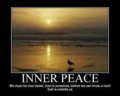 Find your inner peace tattoo
