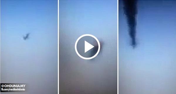 IS dedah video saat akhir pesawat A321 Rusia, mengaku tembak jatuh