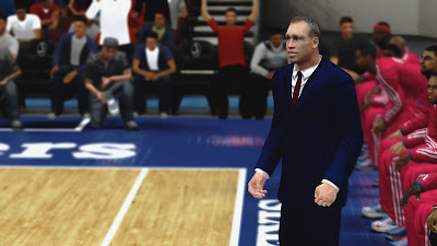 NBA 2K13 Doug Collins Cyberface NBA2K Patch