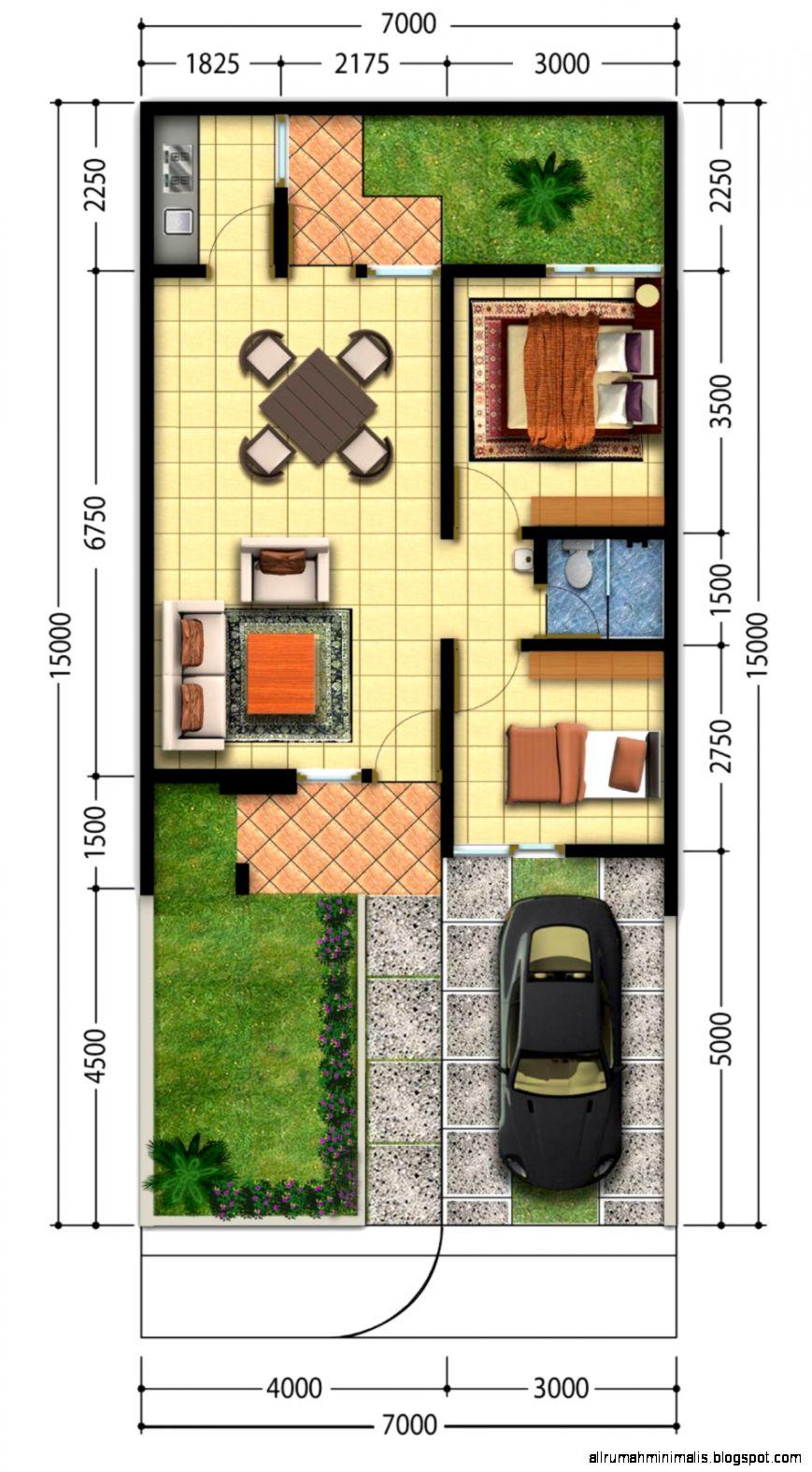 Rumah Minimalis Denah Design Rumah Minimalis