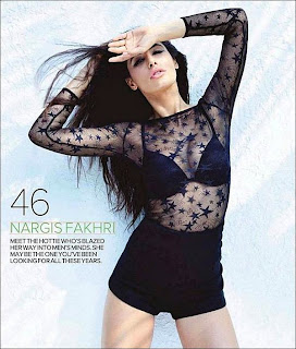 Nargis Fakhri Shoot for Maxim Magazine's