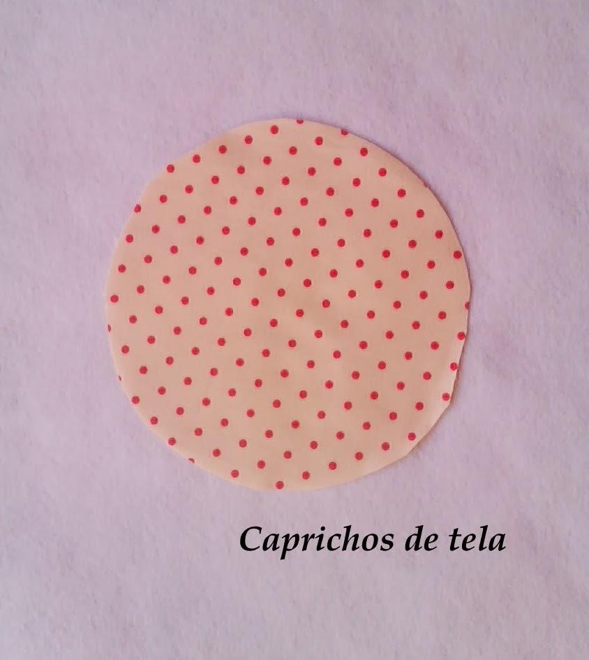 Caprichos de tela: Tutorial seta sujetapuertas