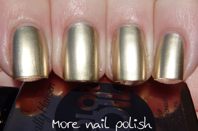 Sally Hansen Color Foil Swatches And Review