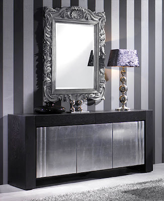 Aparadores metalizados - Aparadores con espejo ...