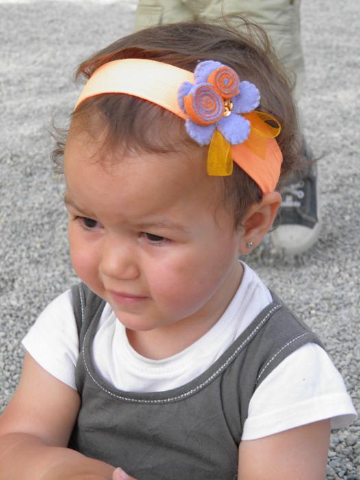 cajita de fieltro felpas de beb