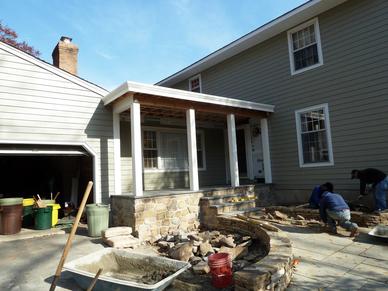 A E Construction 39 S Blog Pennington Porch Addition
