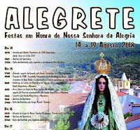 ALEGRETE: FESTAS DA SENHORA DA ALEGRIA