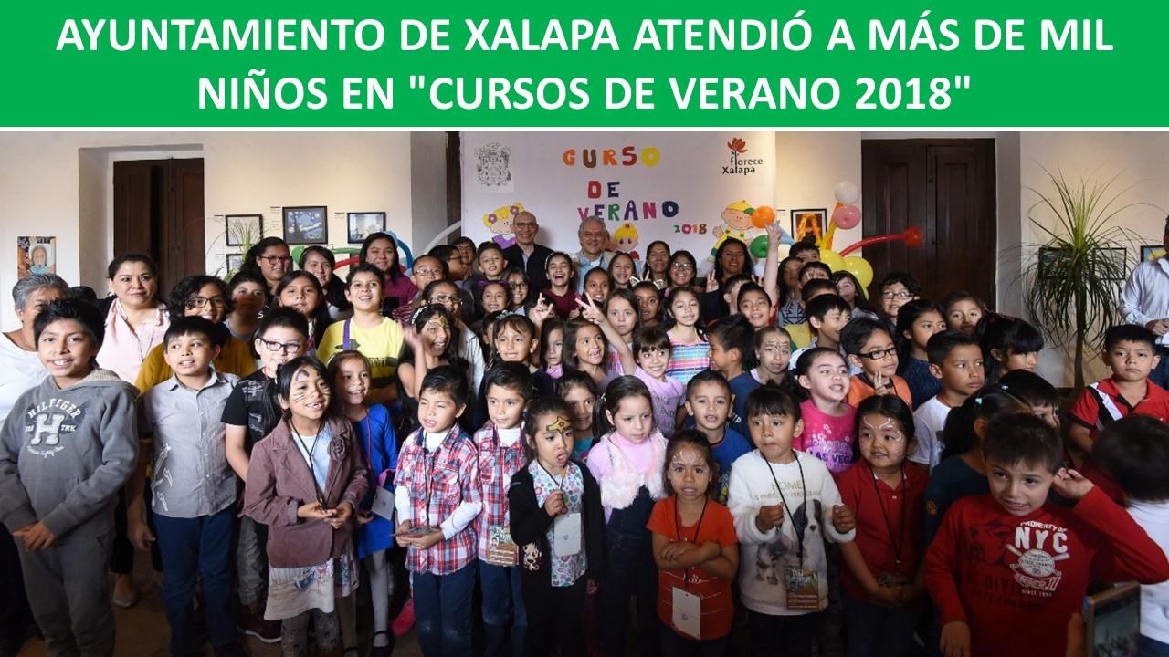 """MÁS DE MIL NIÑOS EN """"CURSOS DE VERANO 2018"""""""