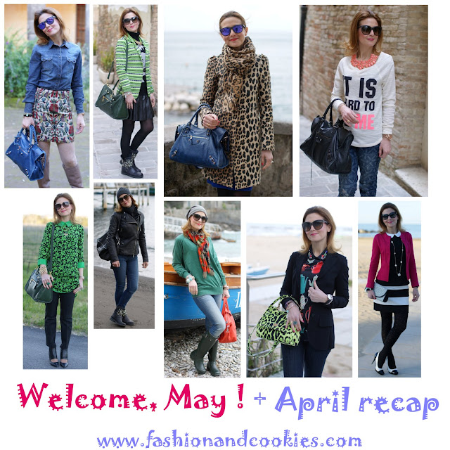 Fashion and Cookies outfit recap for April 2013