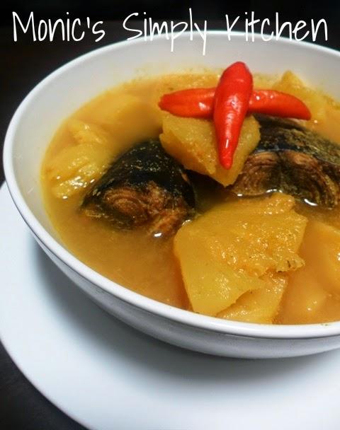 sup ikan kuning gangan khas belitung
