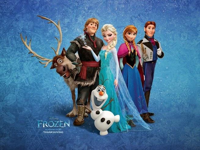 Trailer Frozen una aventura congelada.