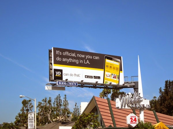 do anything in LA Yellow Pages billboard